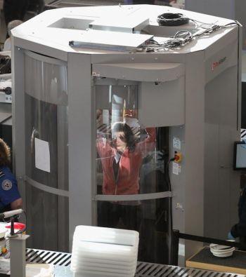 airport full body scanner